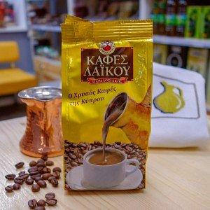Кофе традиционный кипрский молотый Laiko, 100г - фото 1