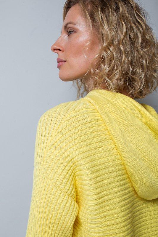 Джемпер - ЕВ 395/желтый - фото 1