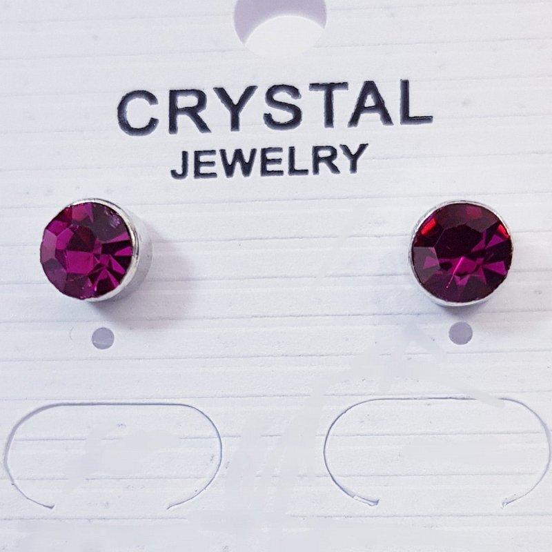 18.0084 Серьги Swarovski Crystal позолота, арт.СС0012 - фото 1